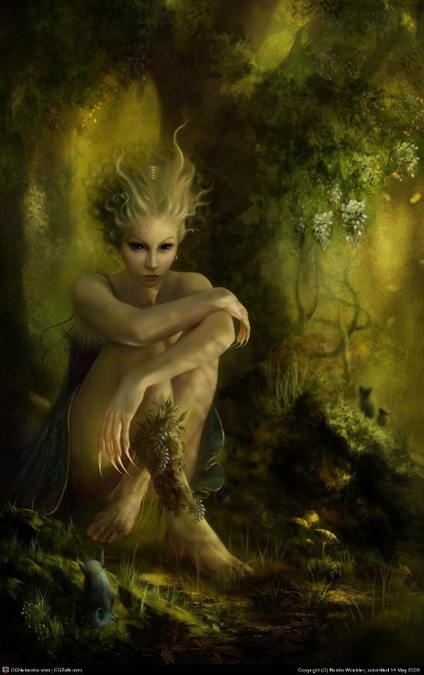 nature spirit | Devic Realm Artwork | Pinterest | Anklet ...