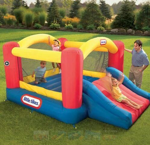Jump 'n Slide Dry Bounce House