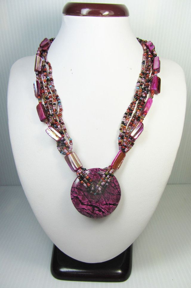 FASHION PEARL SHELL STYLE NECKLACE QT196