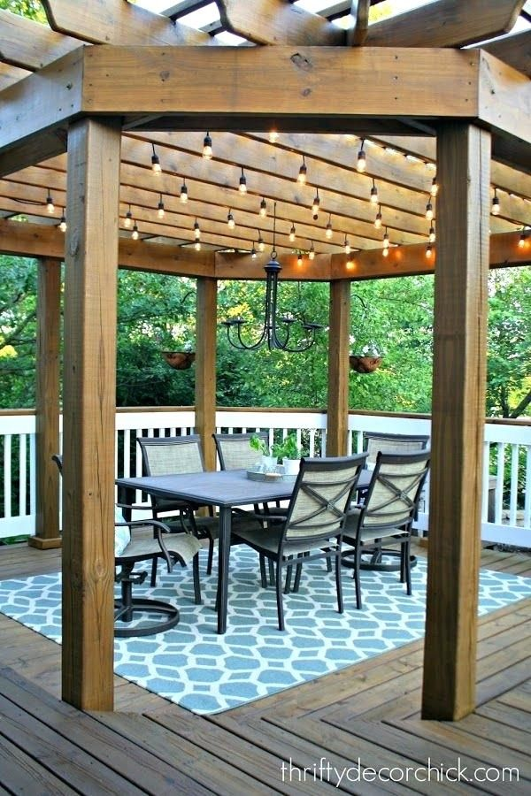 our beautiful outdoor dining room outdoor dining room and lights gardens pergola  lights ideas - Our Beautiful Outdoor Dining Room Outdoor Dining Room And Lights