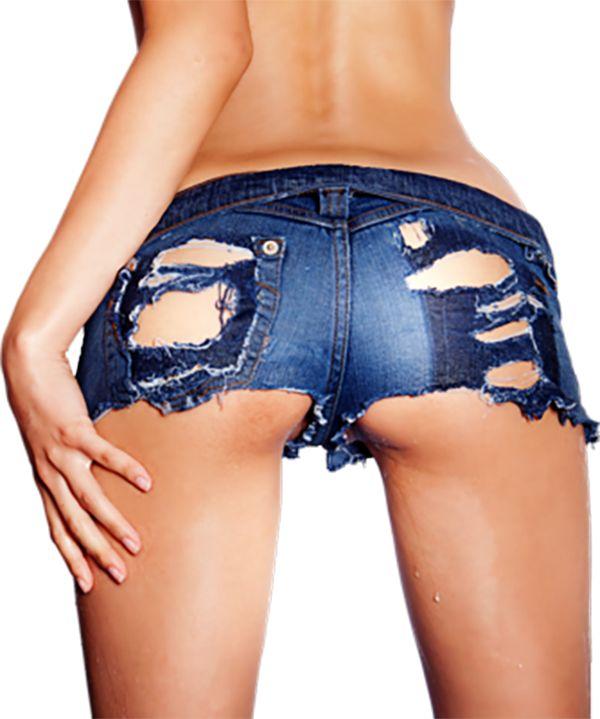biker babes cutoff shorts