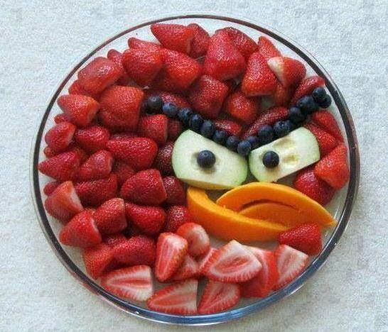 Angry birds party food idea