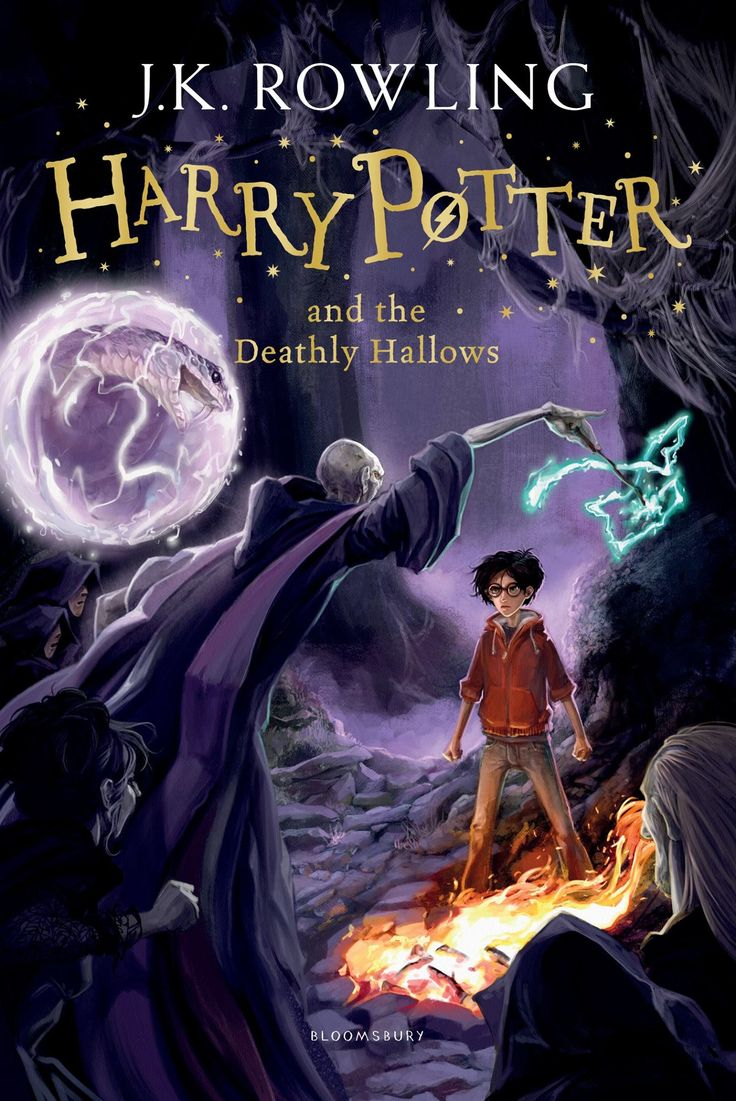 Harry Potter #7: Harry Potter and the Deathly Hallows by J K Rowling