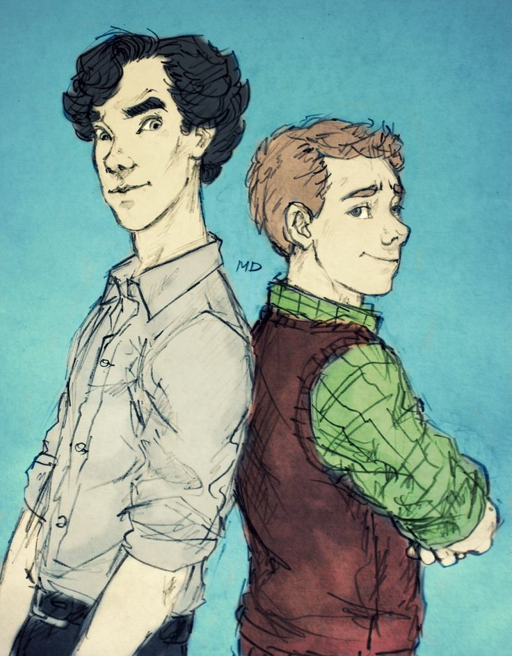 fluffy johnlock sherlock - photo #8