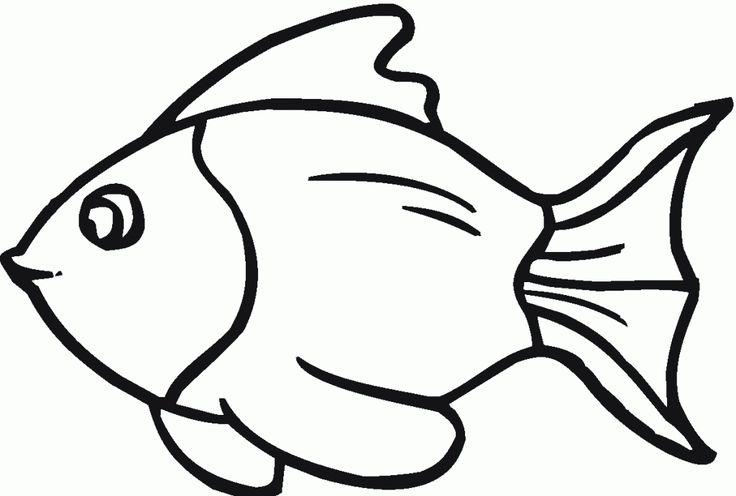 Fish Template Cut Out - AZ Coloring Pages