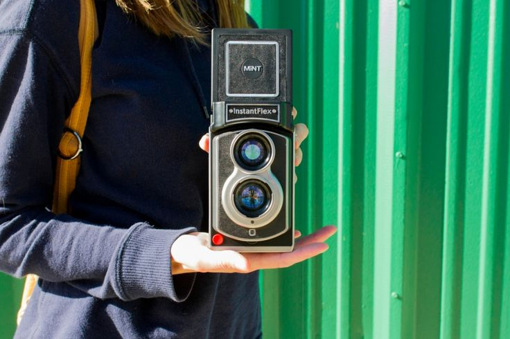 A brand new instant camera with a timeless design.