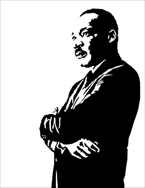 Martin Luther King Jr Art Print Illustration Of The Civil Etsy In 2021 Martin Luther King Art Jr Art Martin Luther King Jr