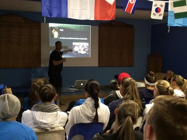 Herballife presentation for our Club players. Nutrition in so important in sport, making sure our players are educated on eating right before a match or training.
