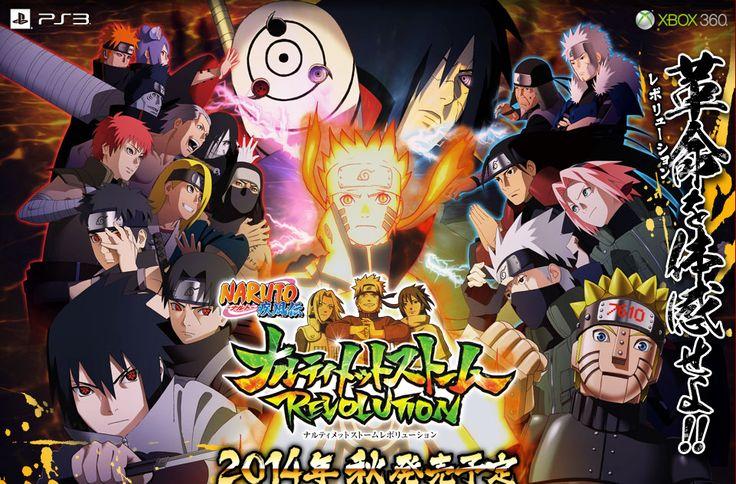 Download Game Naruto Ultimate Ninja Storm Revolution CODEX