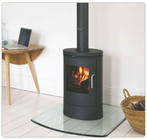 Morsø 6140 Freestanding wood burning convection stove from Vancouver Gas Fireplaces