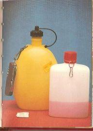 Les gourdes en plastique de notre enfance! - années 70
