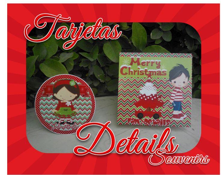 diseos de tarjetas navideas details souvenirs facebook