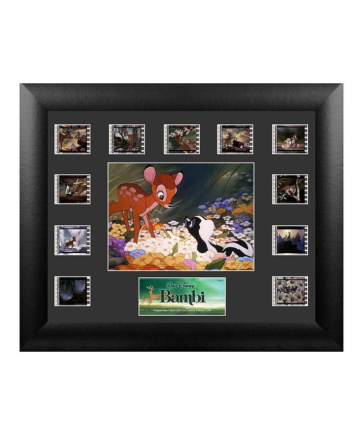 Bambi Framed Film Cells Wall Art