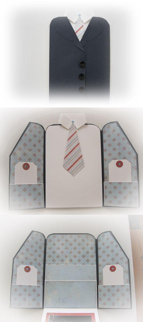 Jacket with pockets inside