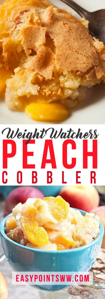 WEIGHT WATCHER EASY PEACH COBBLER – Page 2 – OMG RECIPES