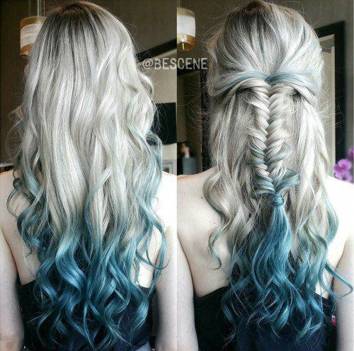 418 best hair images on pinterest colourful hair cabello de looking for hair color ideas dip dye hair is fun and easy to do yourself at home dip dye works for light and dark as well as long and medium hair solutioingenieria Image collections