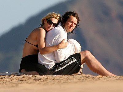 Jenny and Jim Carrey