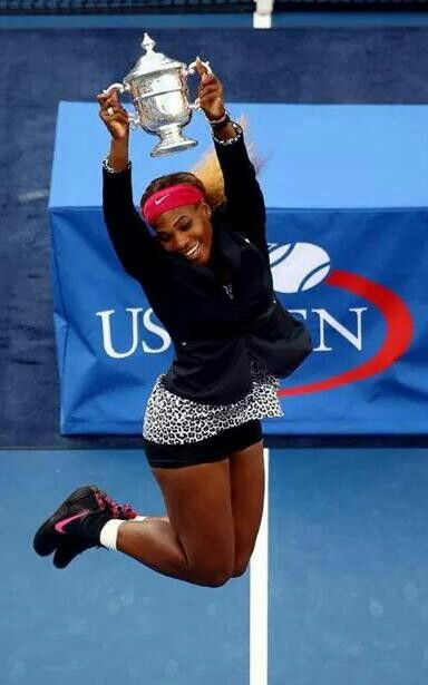 2014 US OPEN CHAMPION! MISS SARENA WILLIAMS.