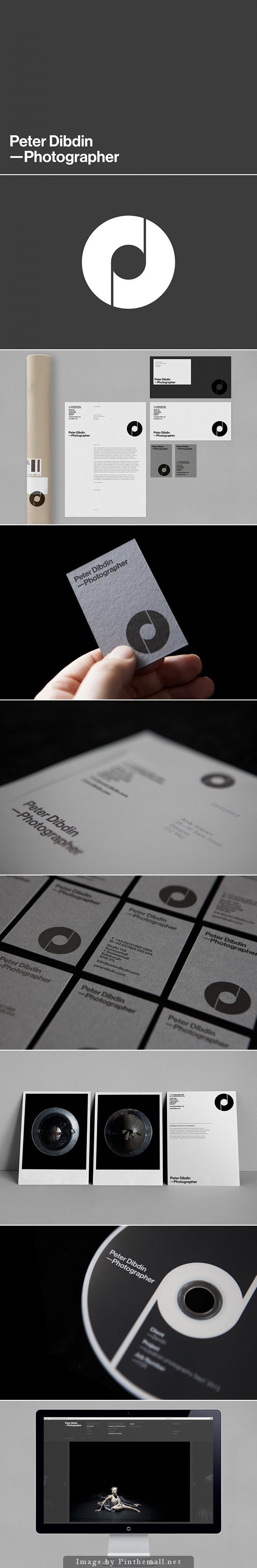 Peter Dibdin personal branding. Design by ostreet - created via http://pinthemall.net:
