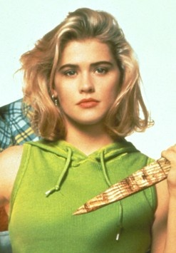 Kristy Swanson as Buffy the Vampire Slayer...love the hair and the color!