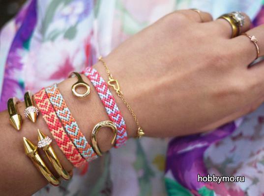 Браслет дружбы из ниток мулине своими руками,макраме,браслеты дружбы,день святого валентина,браслеты,браслеты своими руками,фенечки,браслеты макраме,фенечки макраме