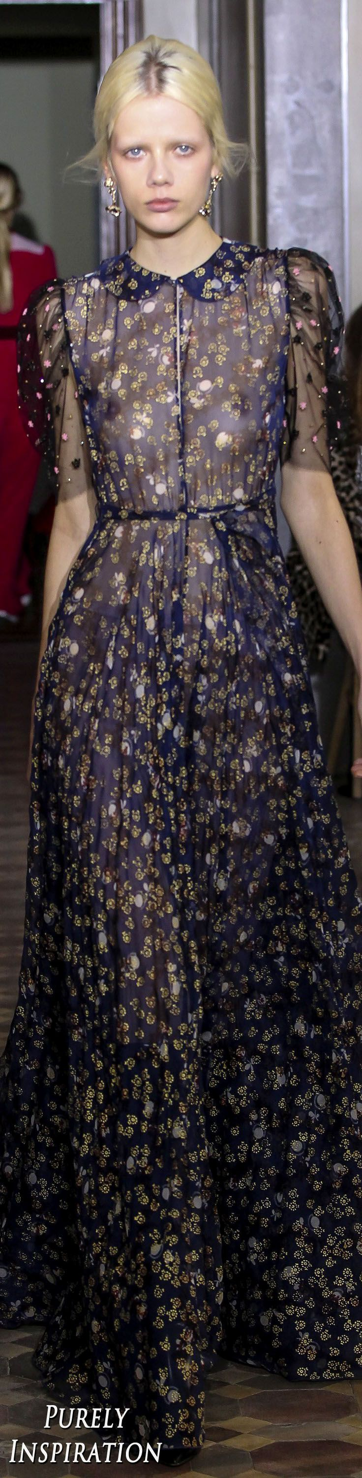 Valentino Pre-Fall 2017 Women's Fashion RTW | Purely Inspiration