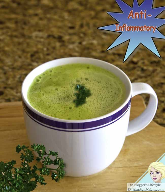 Hot Green Drink [low carb] I wanted a hot green drink that was low carb…
