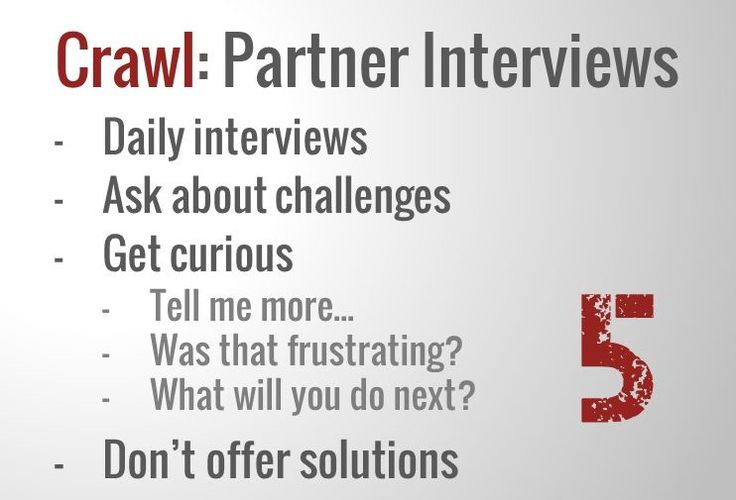 Crawl - Partner Interviews