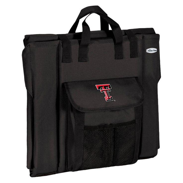Portable Stadium Seats NCAA Texas Tech Red Raiders Black