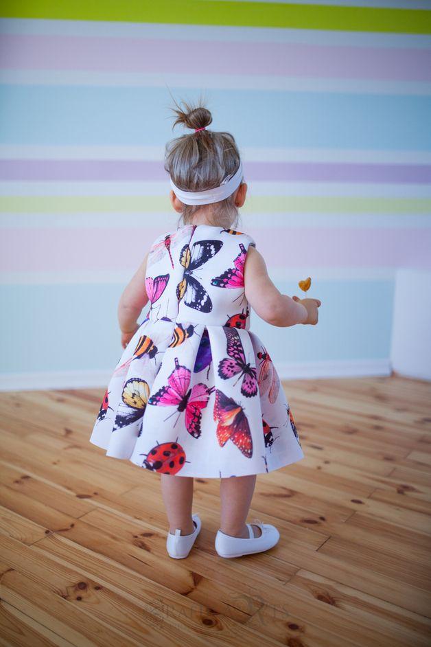 wiosenna sukieneczka! - justynasuchora - Sukienki dla dziewczynek
