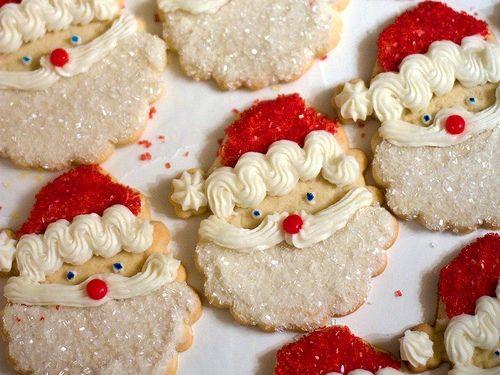 Santa Cookies.