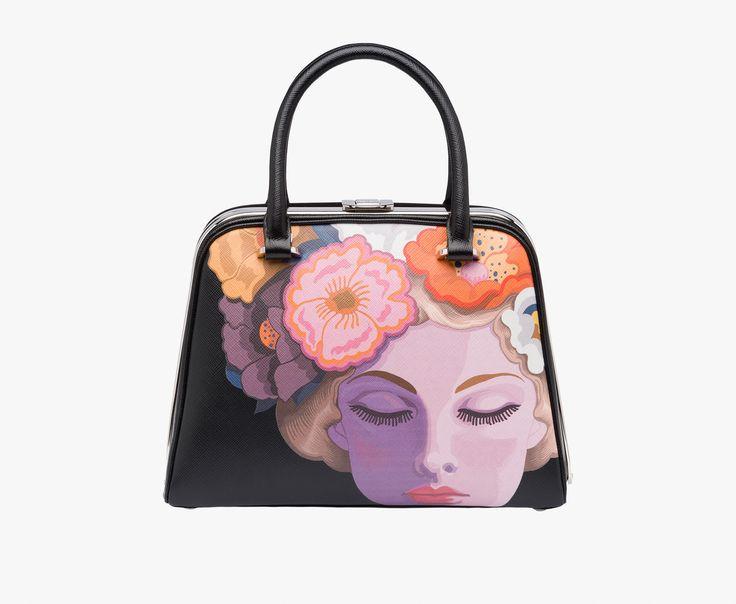 prada pouch mens - 1BA865_2A98_F0LP7_V_OOM top handle - Handbags - Woman - eStore ...