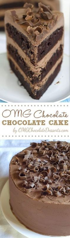 OMG Chocolate Chocolate Cake 2 hrs to make, serves 12