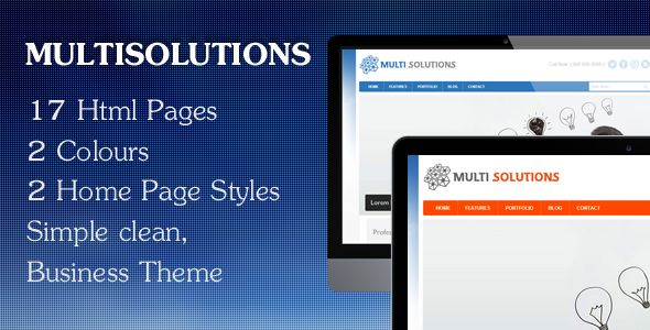 Multisolutions - Html Theme
