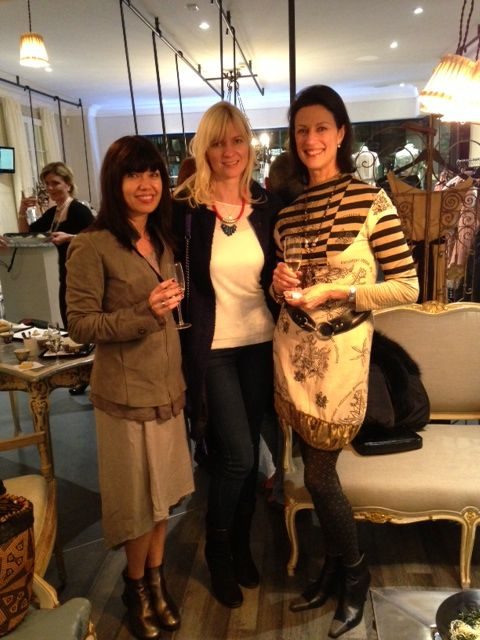 Kelly, Beate and Robin enjoying lovely french champagne www.frenchrendezvous.com.au