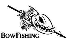 Bowfishing Decals bow fishing sticker bowfishing reel fish slingshot arrow ...