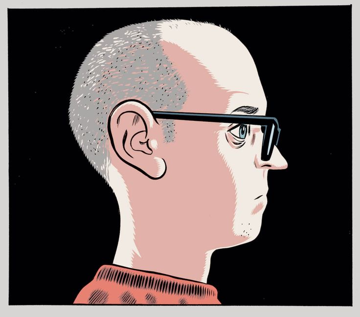 Daniel Clowes of Eightball and Ghostworld fame. 'Yes I remember myself as a kid. And I still feel bitter.'
