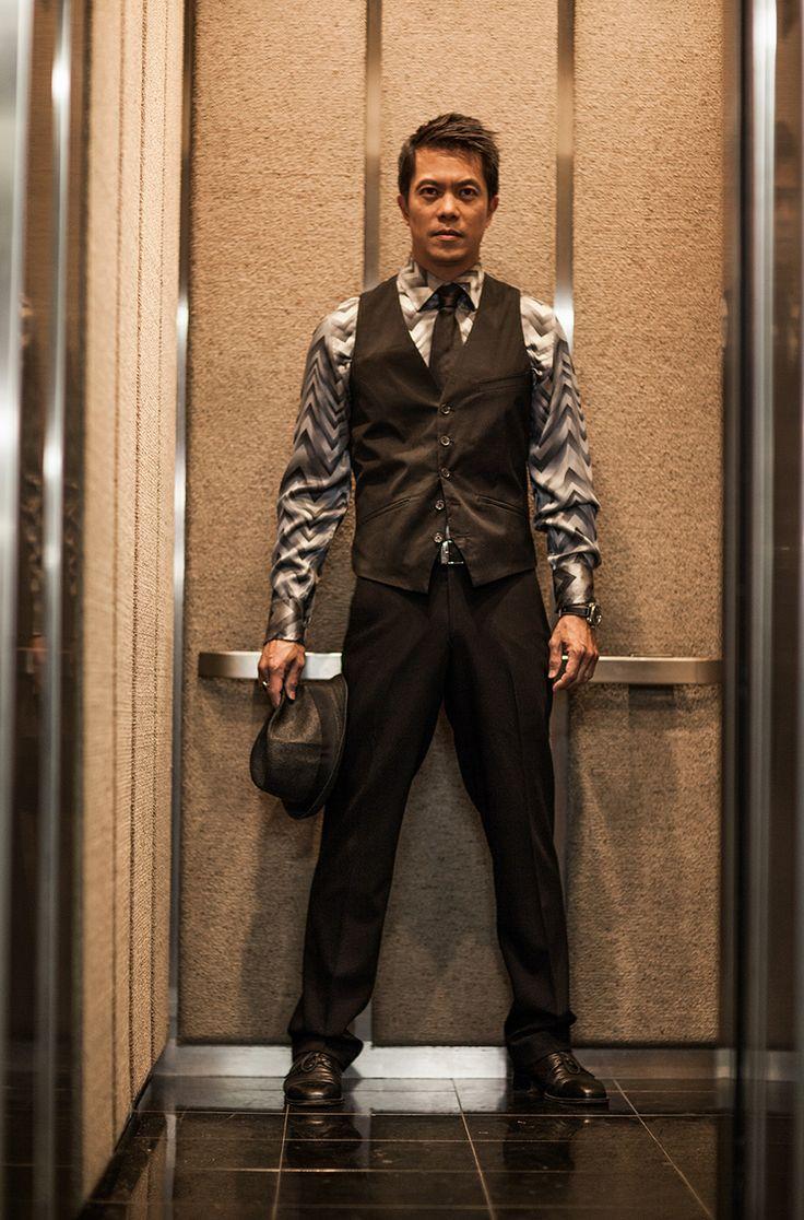 Kevin Thomas - BYRON MANN, #Man_With_The_Iron_Mask, #Arrow