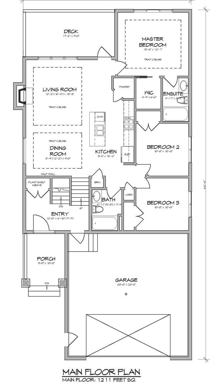 This 1200 Sq Ft, 3 Bedroom, 2