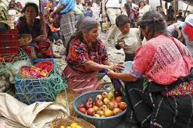 Market place in Antigua, Guatemala