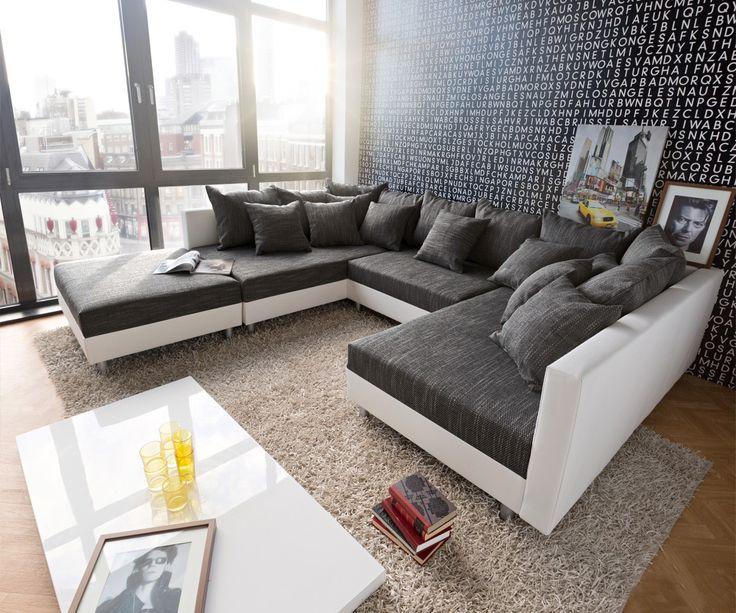 40 besten Clovis - Die Kuschelcouch zum Verlieben Bilder auf - wohnideen wohnzimmer braun weis