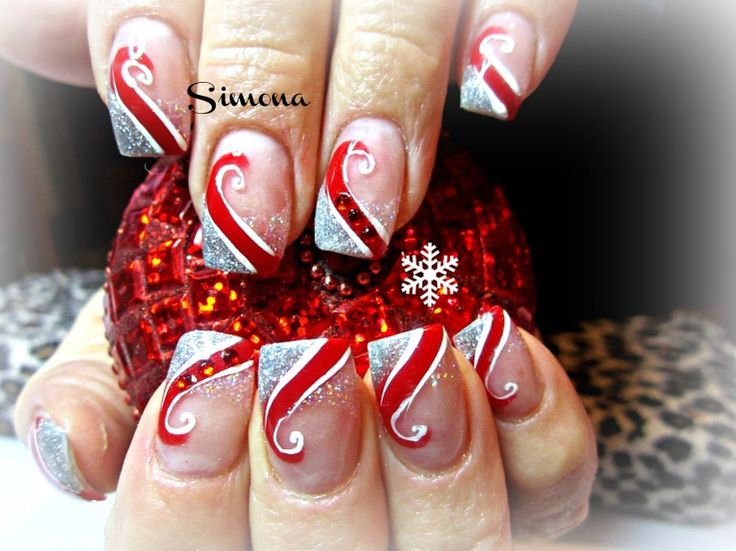 32 Amazing Christmas Nail Design Ideas 2015/2016 For Women - Fashion Craze