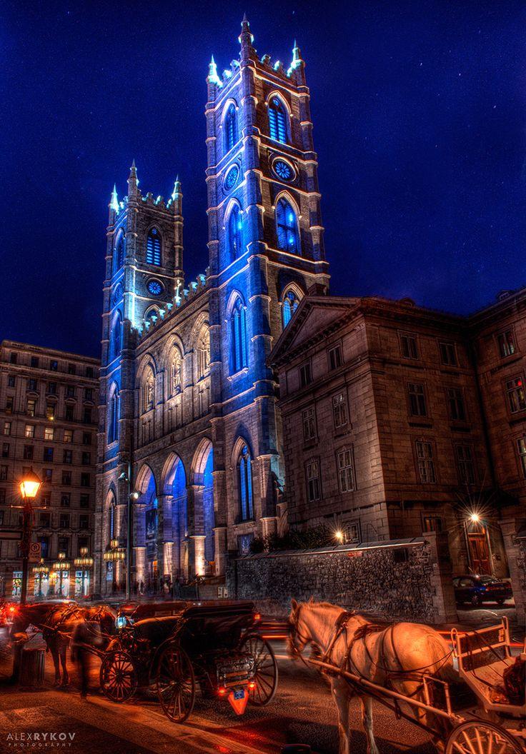 Night on Notre-Dame, Montréal
