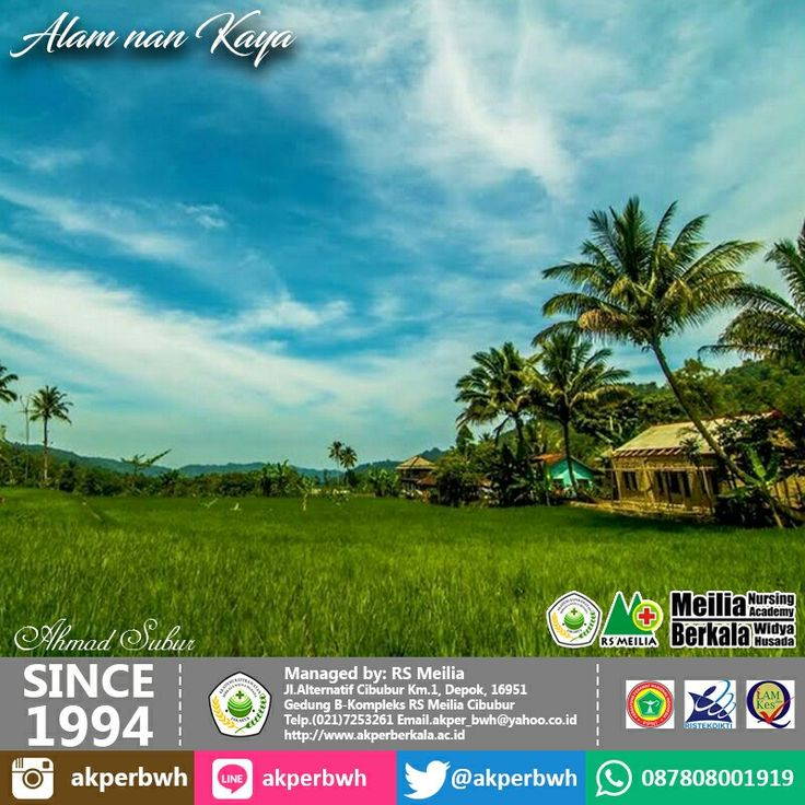 Alam Indonesia #pelajar #siswa #alumni #lulusan #man #pkbm #sman #smkn #smk #sma #jaminan #kursi #karir #profesi #kerja #loker #perawat #akademi #keperawatan #kesehatan #akperberkala #akperbwh #akper #penerimaan #pendaftaran #kampus #kuliah #mahasiswa #perguruantinggi #pts #jalurmandiri #rsmeilia #cibubur #depok #cileungsi #bekasi #bogor #tangerang #jakarta #indonesia