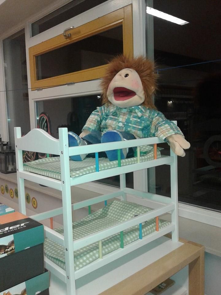 Het bed van Fred