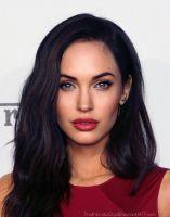 morphing Megan Fox / Angelina Jolie by ThatNordicGuy #morphing #art