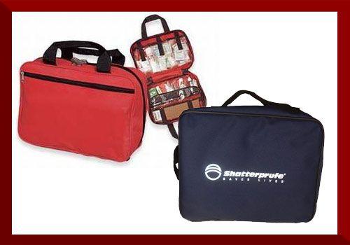 Motorist First Aid Kit  Dimensions: 32cm x 22cm x 6cm  Enquire for contents