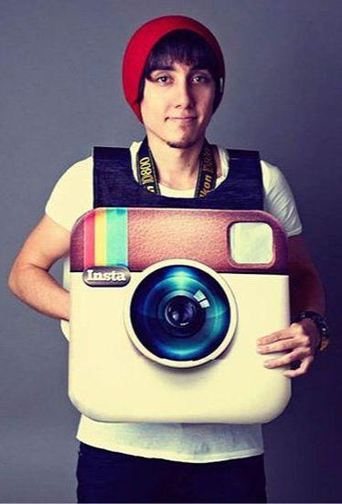I need this Instagram costume! #halloween #costume #instagram