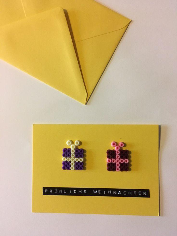 Ein persönlicher Favorit aus meinem Etsy-Shop https://www.etsy.com/de/listing/486292105/weihnachtskarte-mit-geschenken-aus