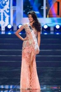 miss brazil universe 2013 evening gown, jakelyn oliveria